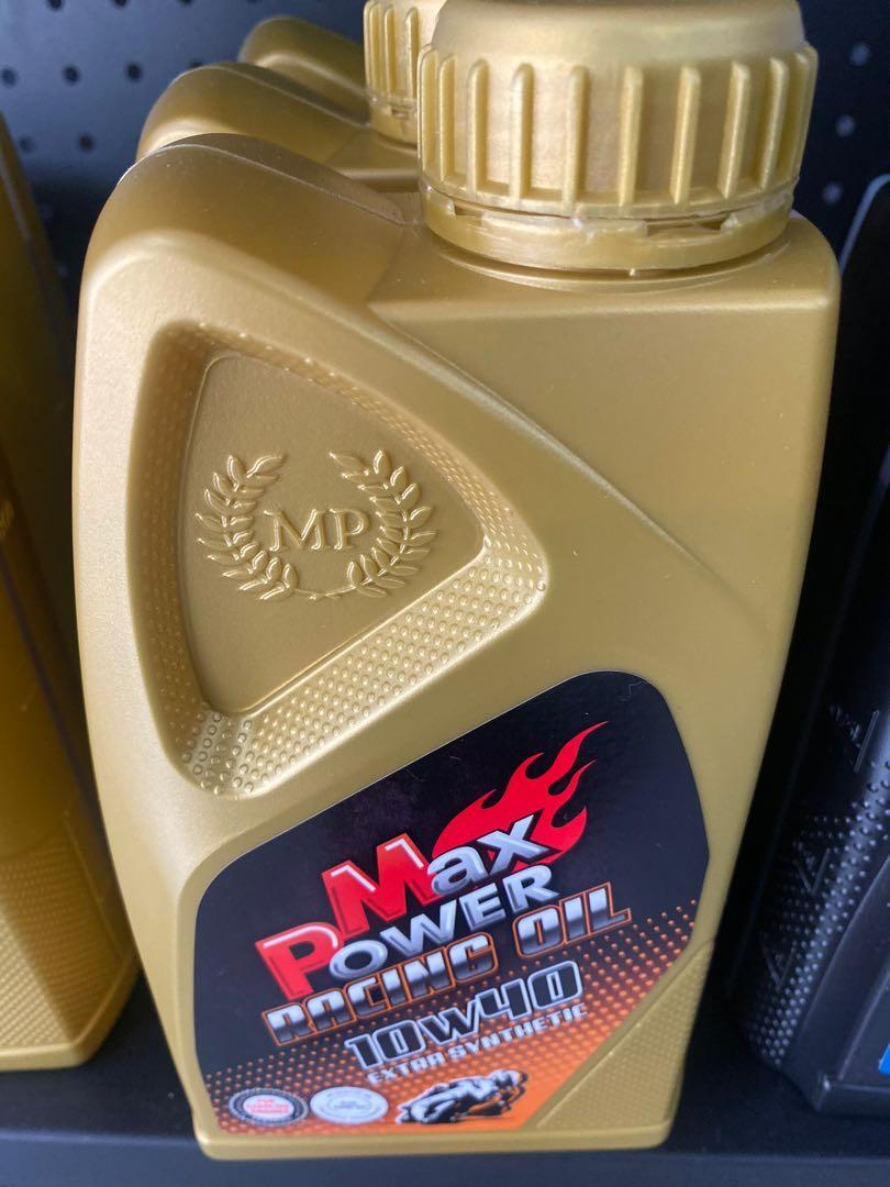 max power racing oil 10w40一箱12罐機油合成基礎油西班牙gro技術合作