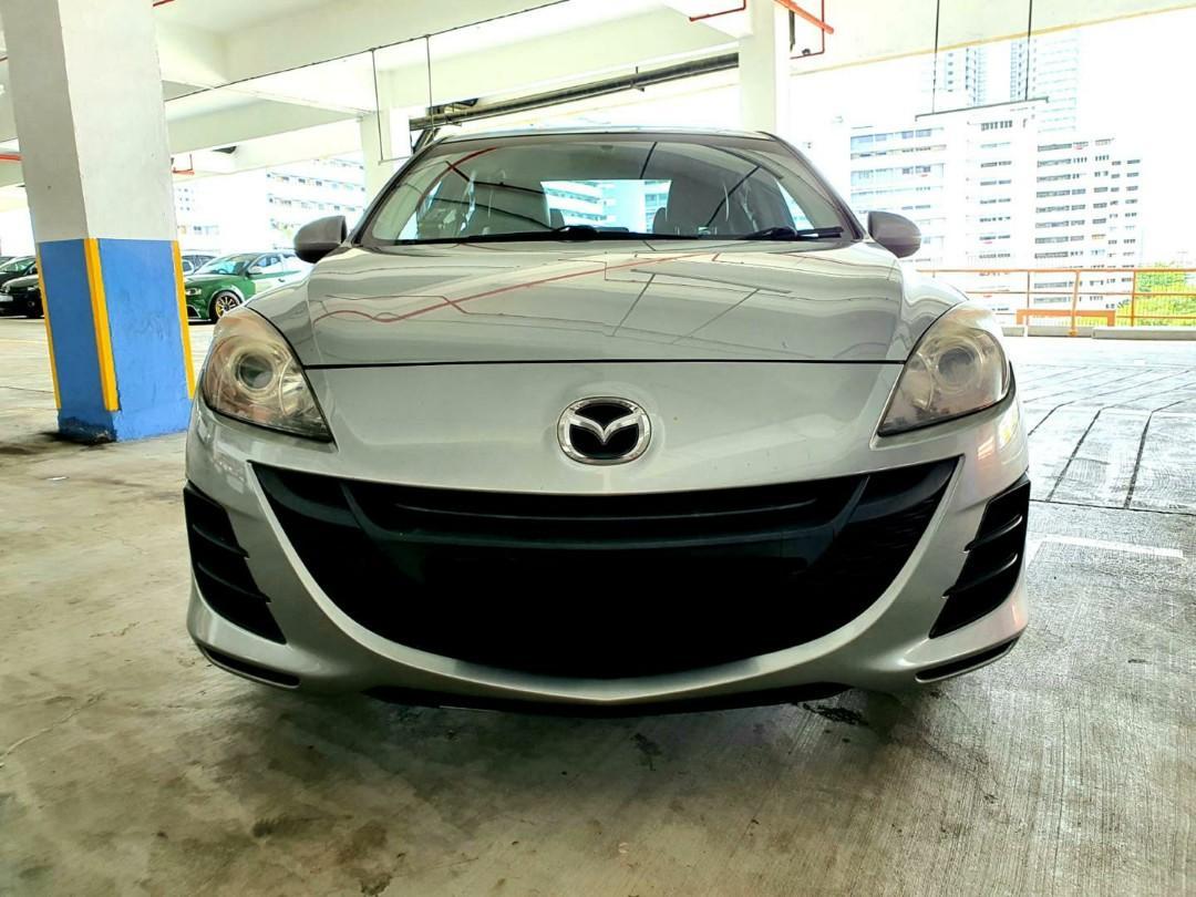 Mazda 3 1.6A (New 5-Year COE) Auto