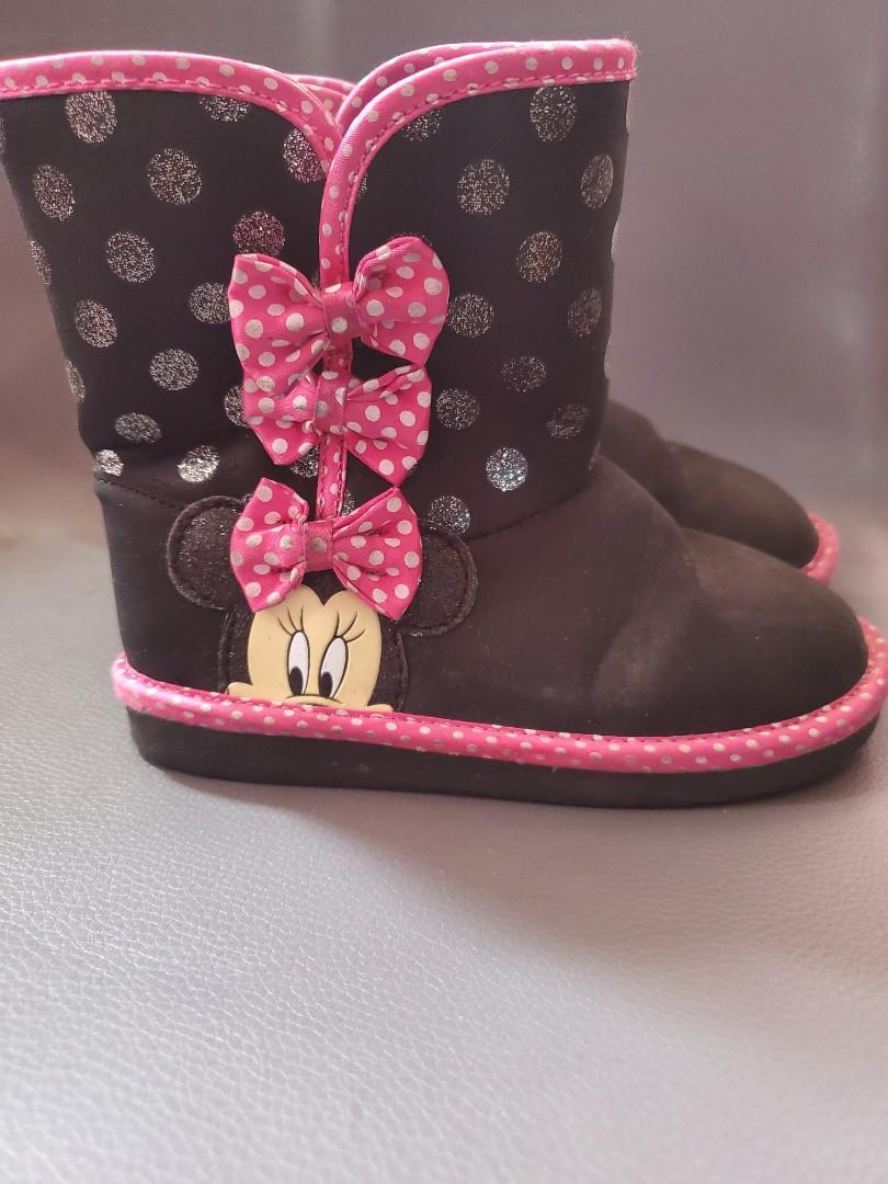 Minnie Mouse boots