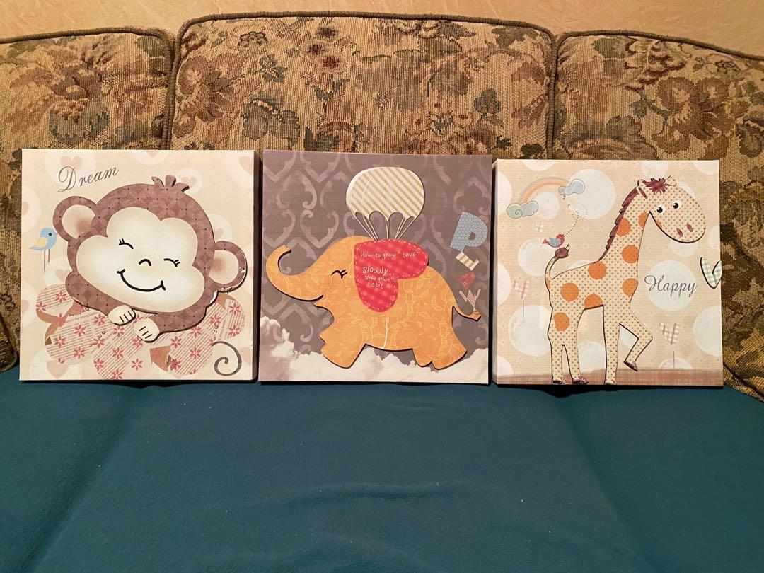 Nursery decor/canvas prints