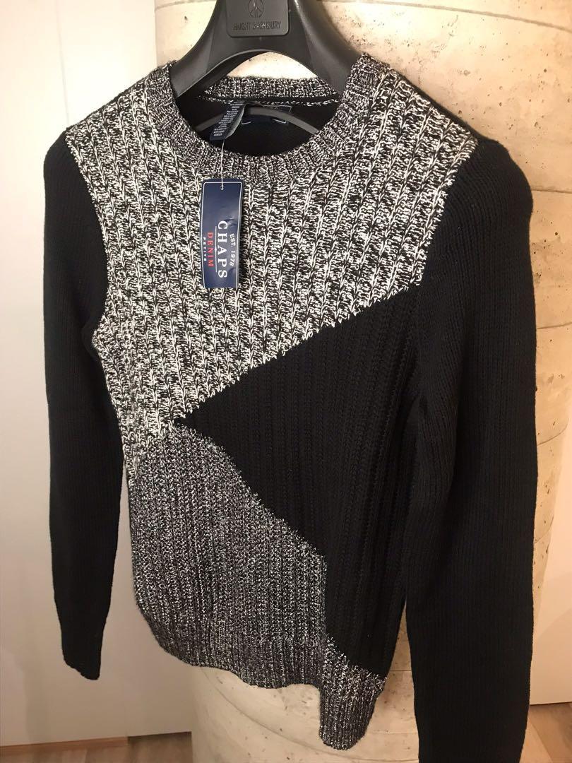 NWT Womens Black Crewneck Sweater $15