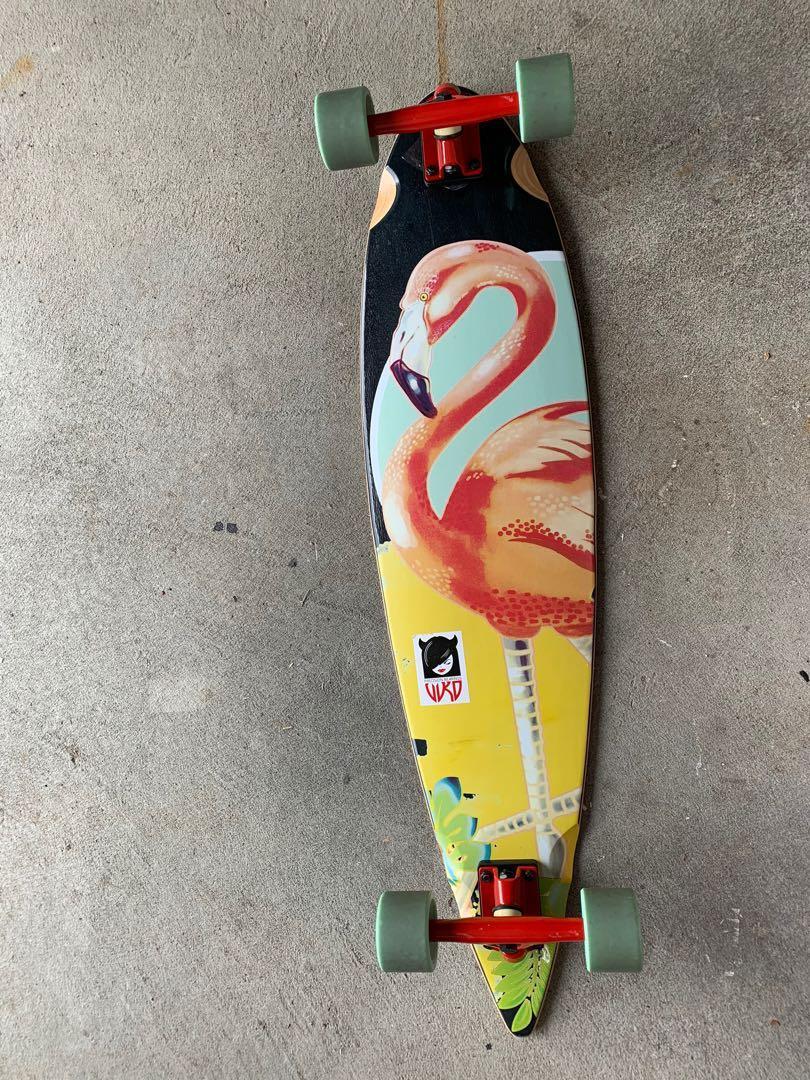 Original Choke Flamingo Pro Pintail Longboard