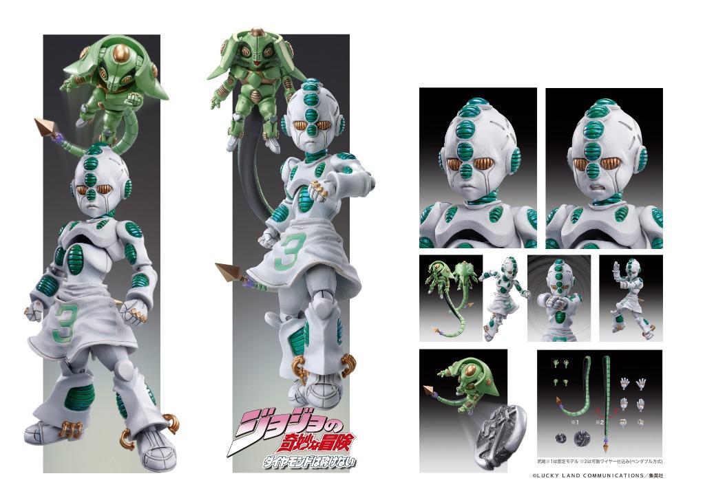 """[Pre-Order] Super Action Statue """"JoJo's Bizarre Adventure -Part IV-"""" Echos Act 2 & Echos Act 3"""