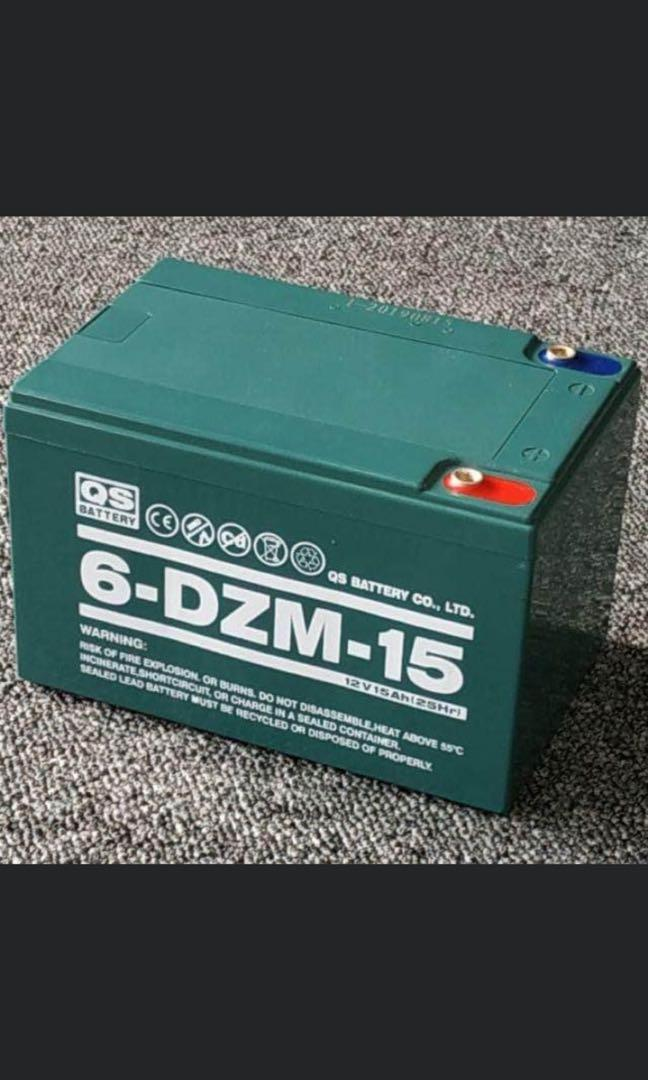 QS Battery 12v/15ah free delivery/6 months warranty/buy 4 pcs.and up big discounts
