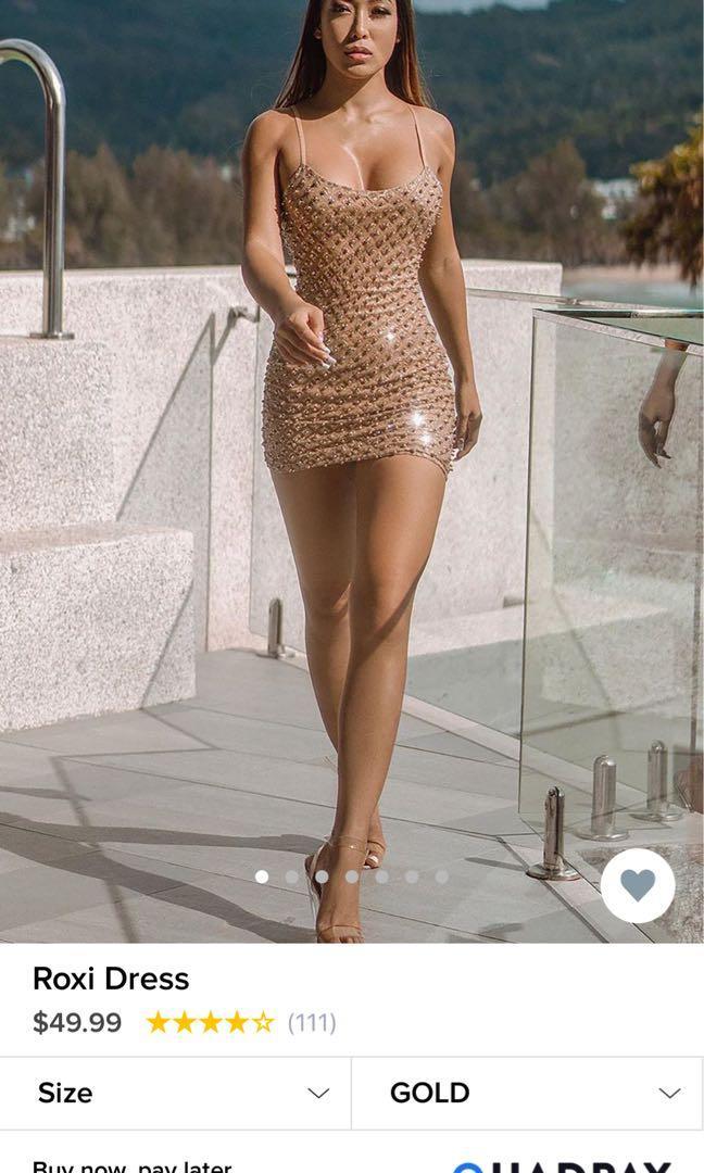 Roxi Dress - Fashion Nova