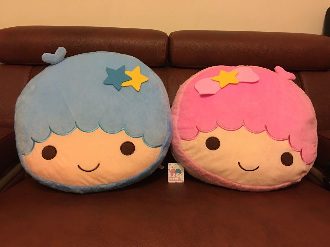 三麗鷗Sanrio kikilala 50cm 19-20吋雙子星絨毛系列