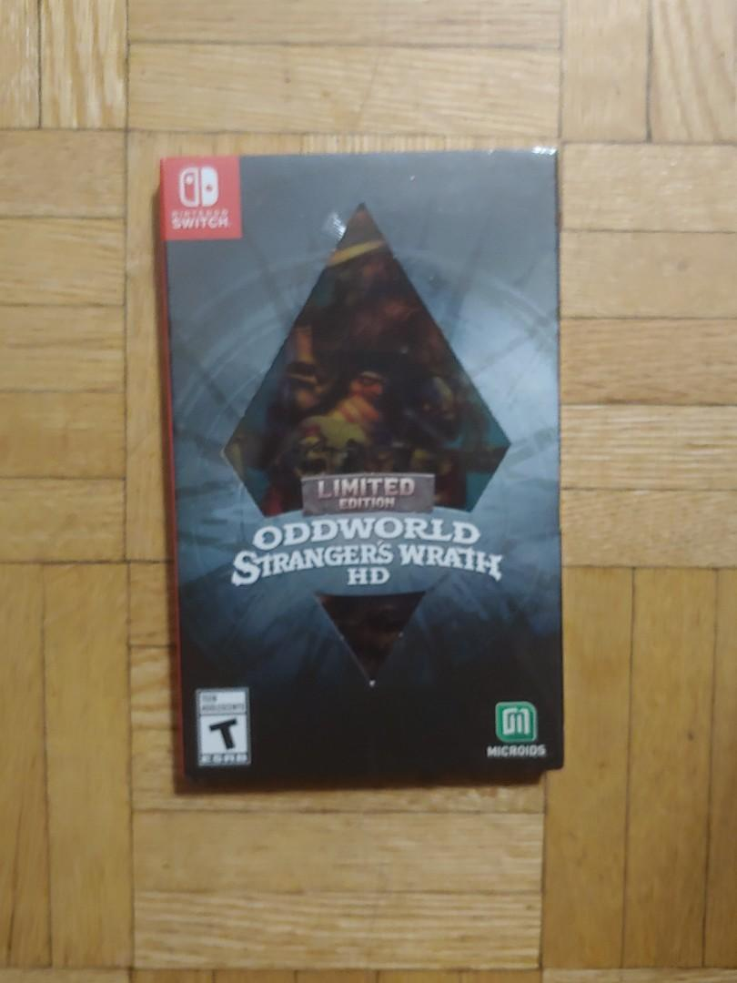 Sealed Limited Edition Oddworld Stranger's Wrath HD