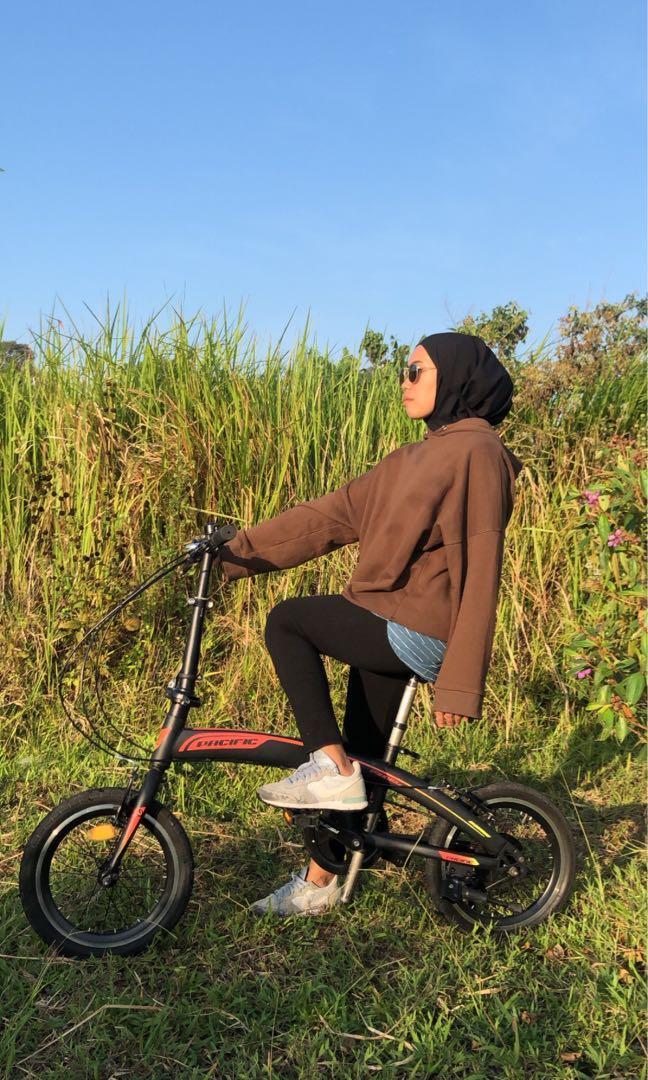 Sepeda lipat pasific 16inc