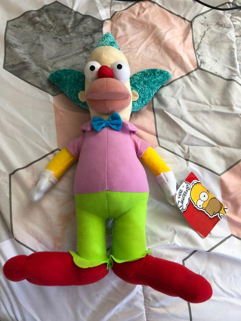 Simpson's Krusty the Clown Plushie