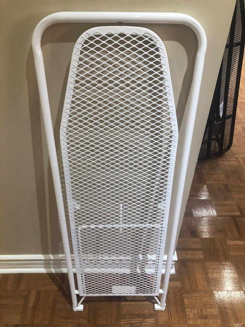 Space Saving, Door Hanging Ironing Rack With Cover