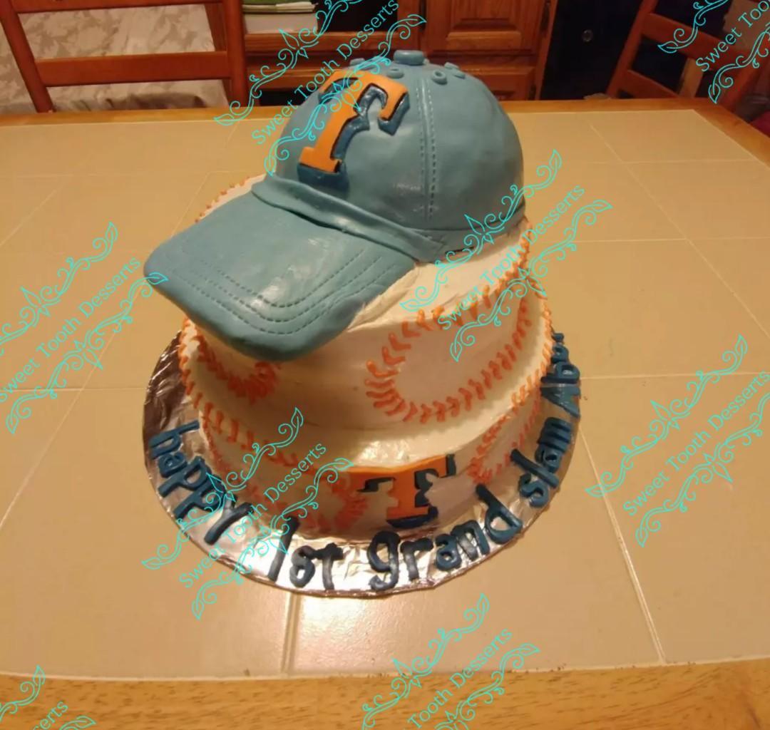 Texas cap cake