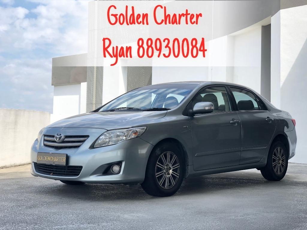 Toyota Altis For Rent ! Gojek , Grab , Personal . Contact 88930084 Ryan