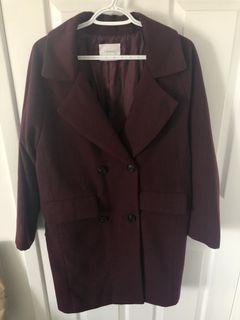 Wool-Blend dad coat