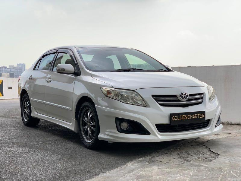 10/09 Call Jenny 8615 8615 September 2020 Promotion ! Toyota Altis 1.6A For Rent ! Personal Use, PHV, Gojek Rebate, LALAmove, Grab ! Rent Car ! Car Rental ! Cheap Rental Car !