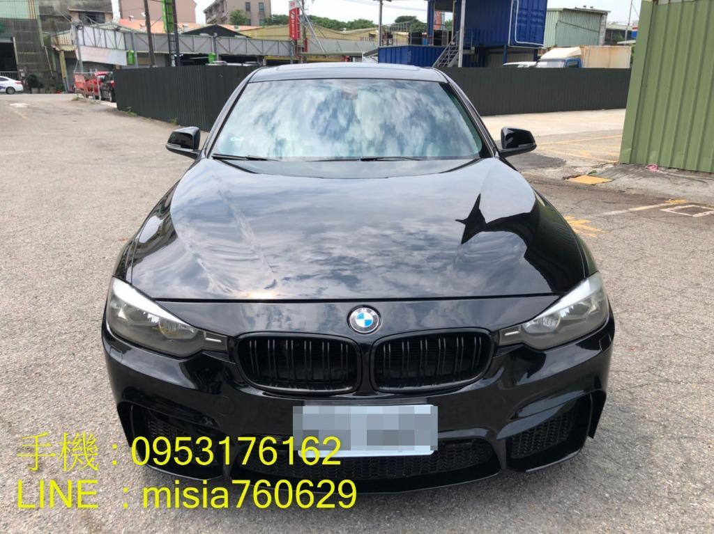 2012年 BMW 328i 黑 / SUM聯盟 / M3包
