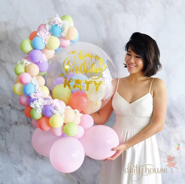 "24"" Custom Deco Balloon Table Top Display"