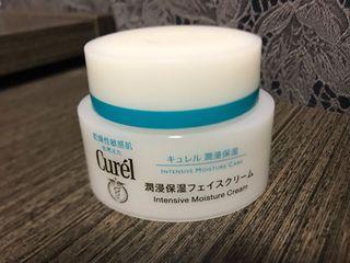 80%新Curel intensive moisture cream