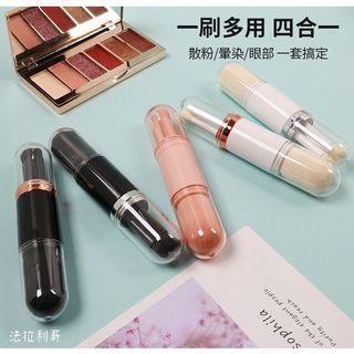 【九成新】便攜化妝刷/隨身刷具組/多功能刷具/伸縮散粉刷/腮紅刷/眼影刷