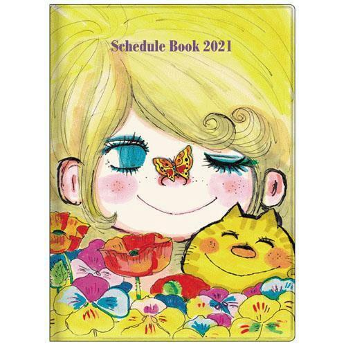 預購 日本製插畫2021行事曆手帳 系列 A6/B6  水森亞土