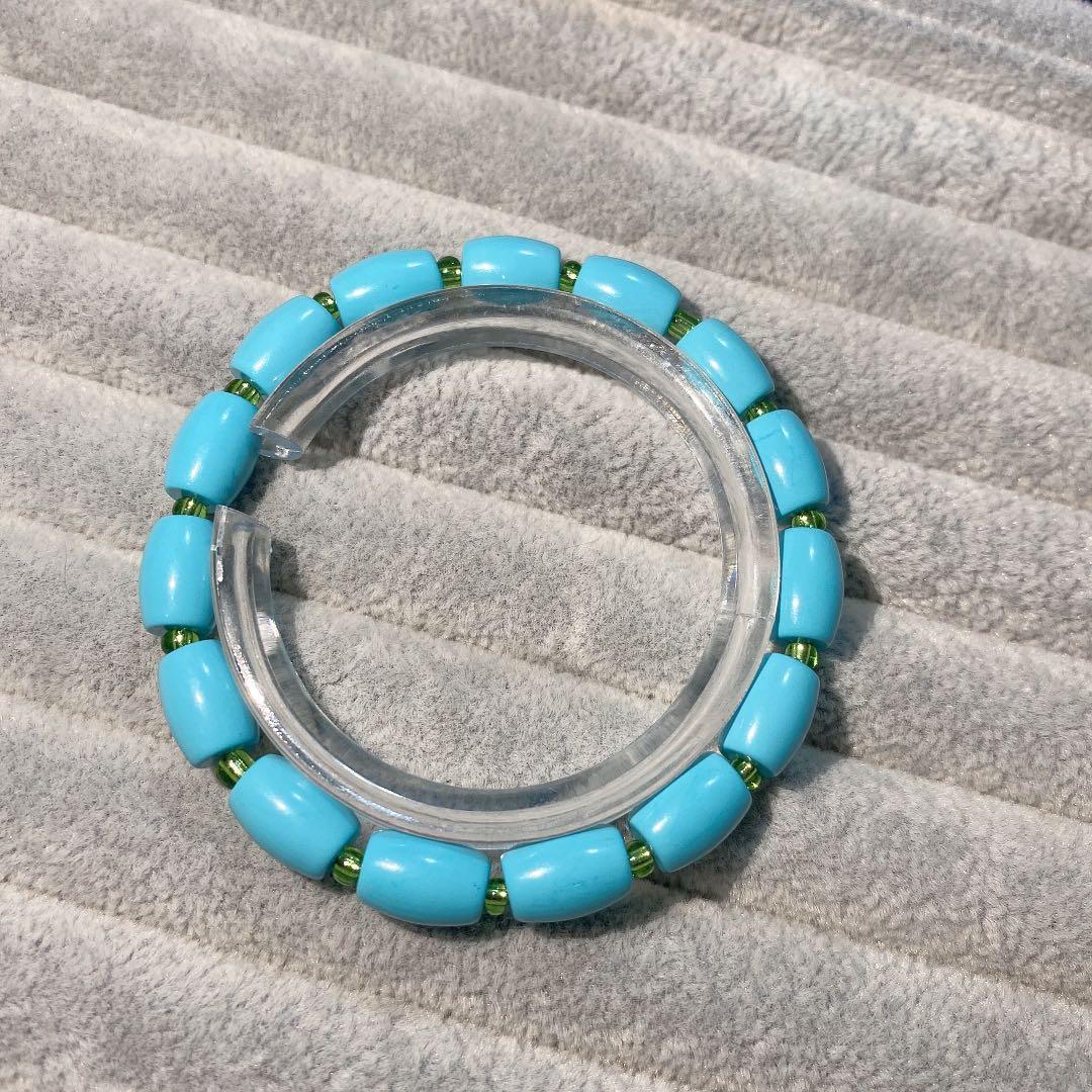安徽松 綠松單圈簡單設計款7mm+