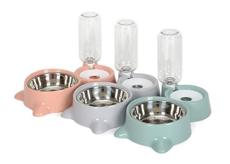 二合一飼料碗 自動加水