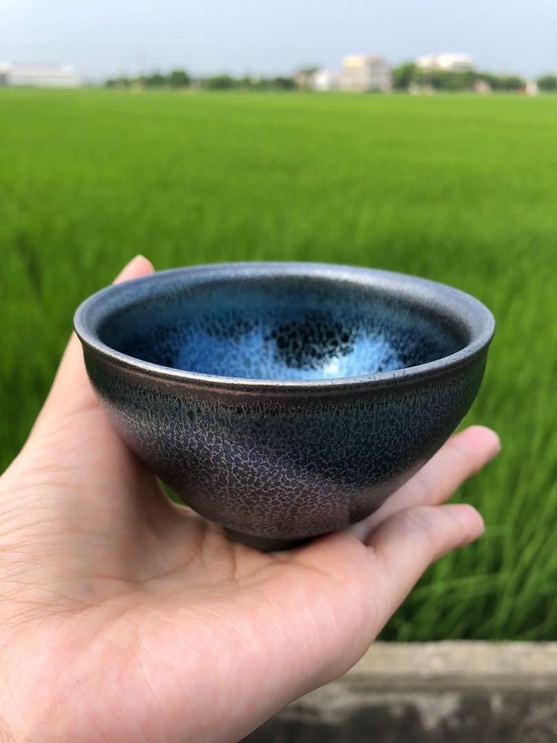 建盞 建盞茶杯,手工燒窯,隨著每個光線變換顏色 規格:8*5cm