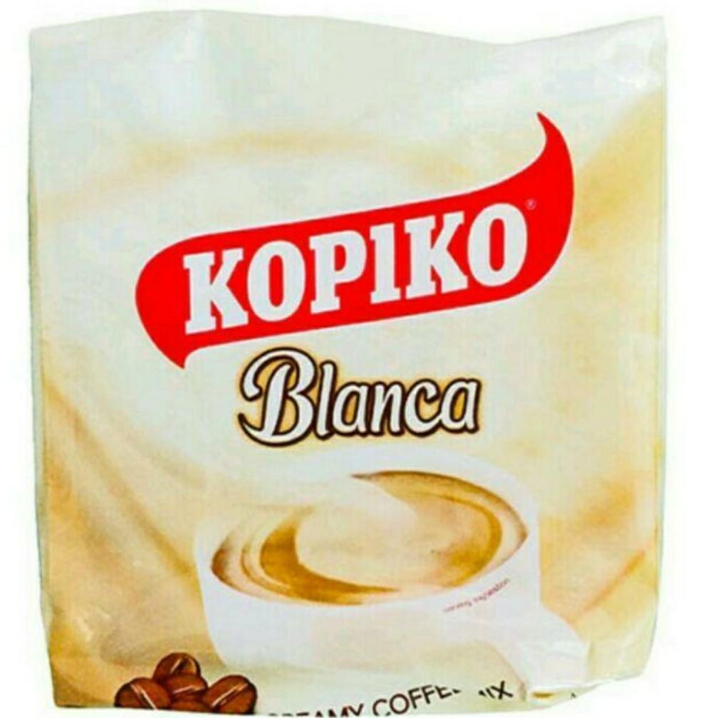 印尼 KOPIKO Blanca 3in1咖啡/1組/10小包