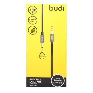 Budi AUX cable (TPE) With metail shell 1.2m Audio