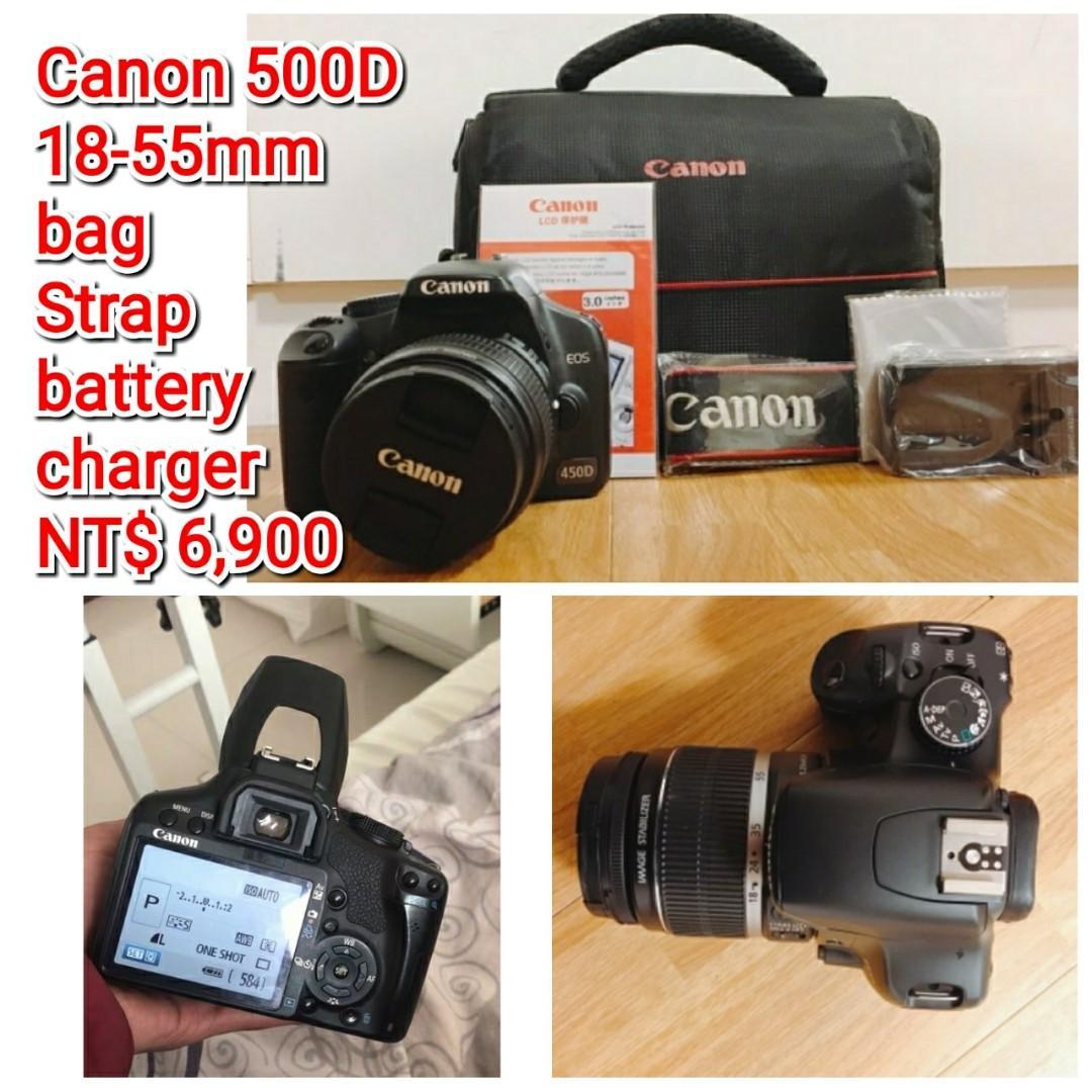 Canon 500D 18-55mm