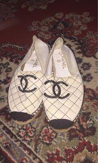 REPRICED! Chanel espadrilles authentic