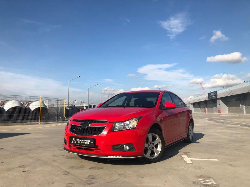Chevrolet Cruze 1.6 SS Sports (A)
