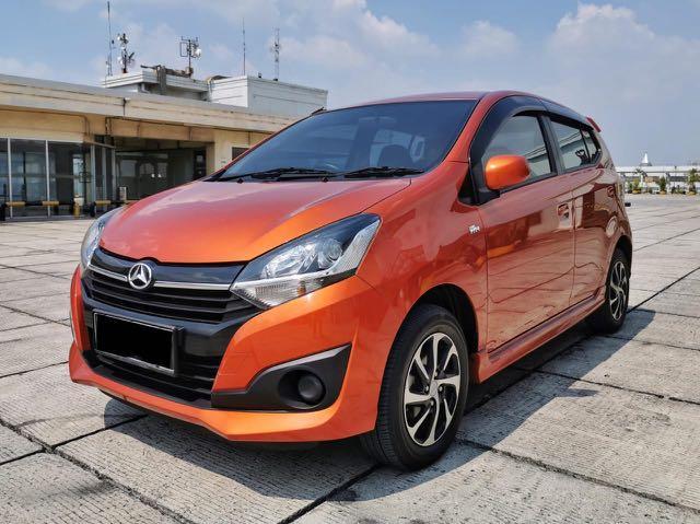 Daihatsu Ayla 1.2 X manual 2017