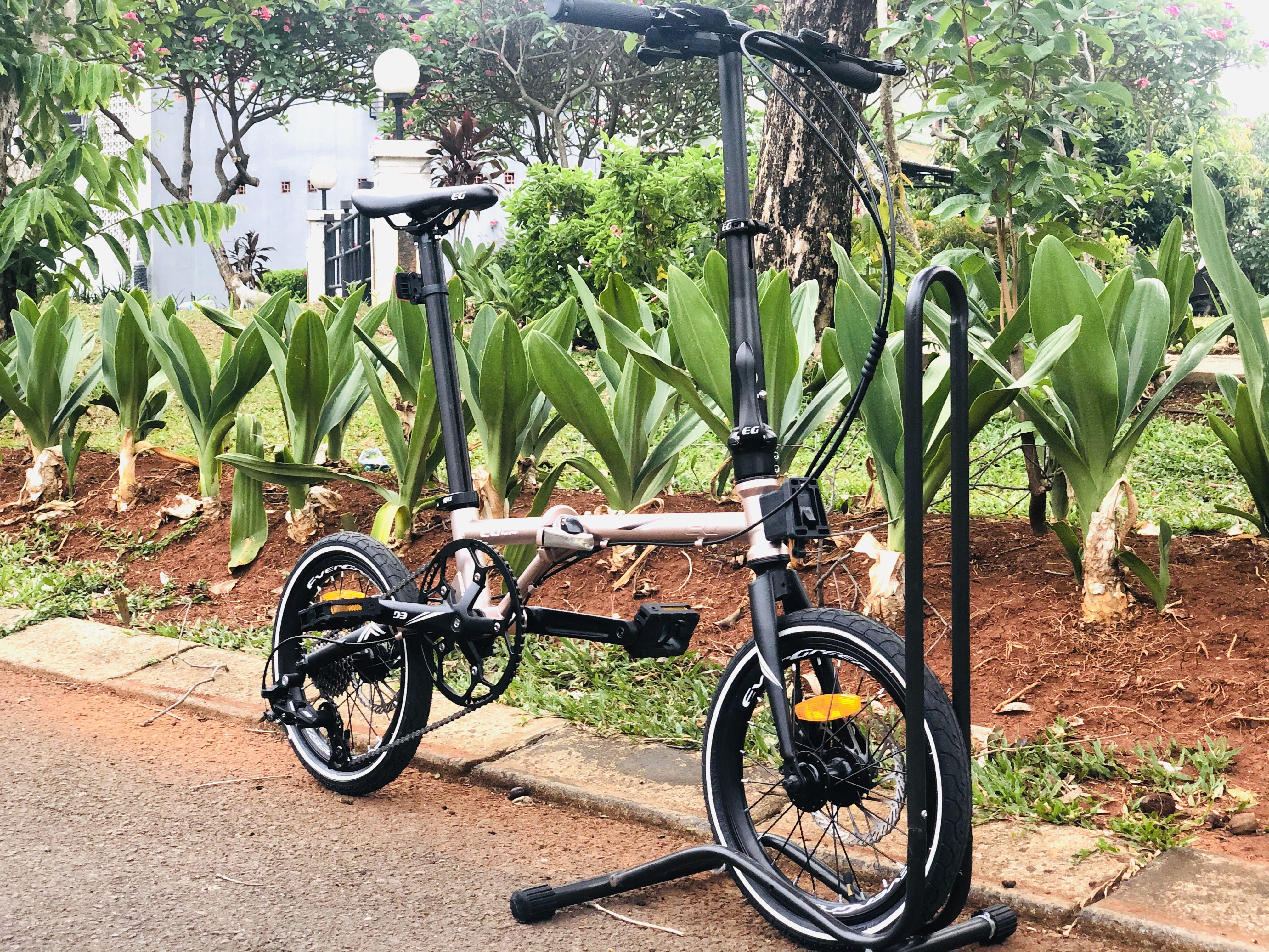 Sepeda Lipat Evergreen Chromoly 9 Speed 2020