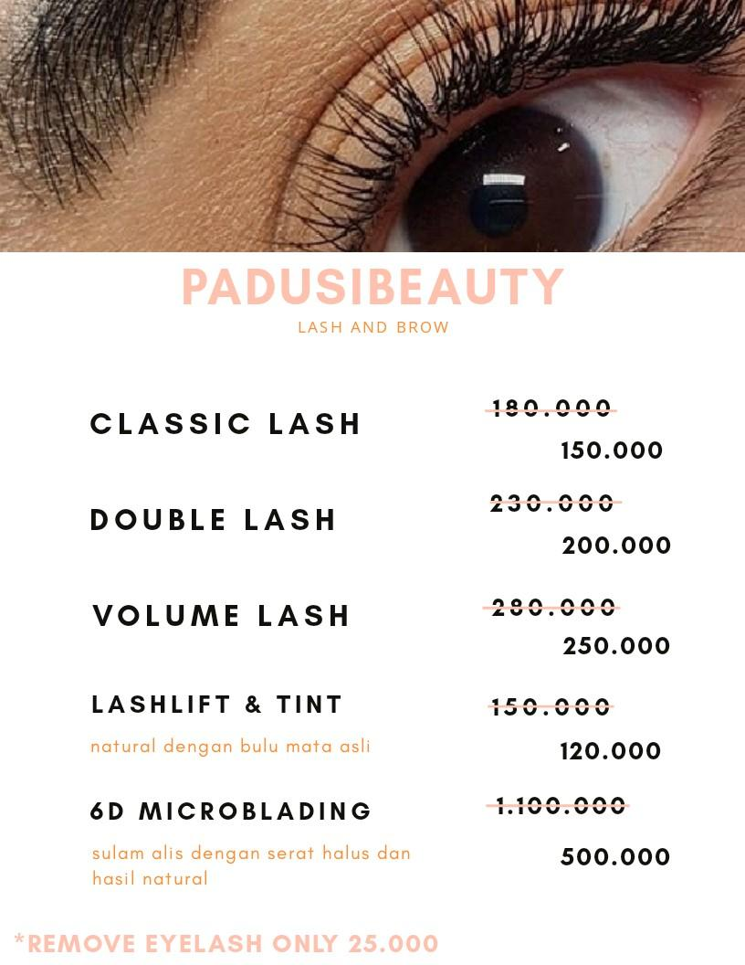 Eyelash extension, lashlift, sulam alis