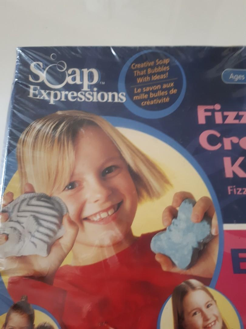 Fizzy Bath Soap Expressions