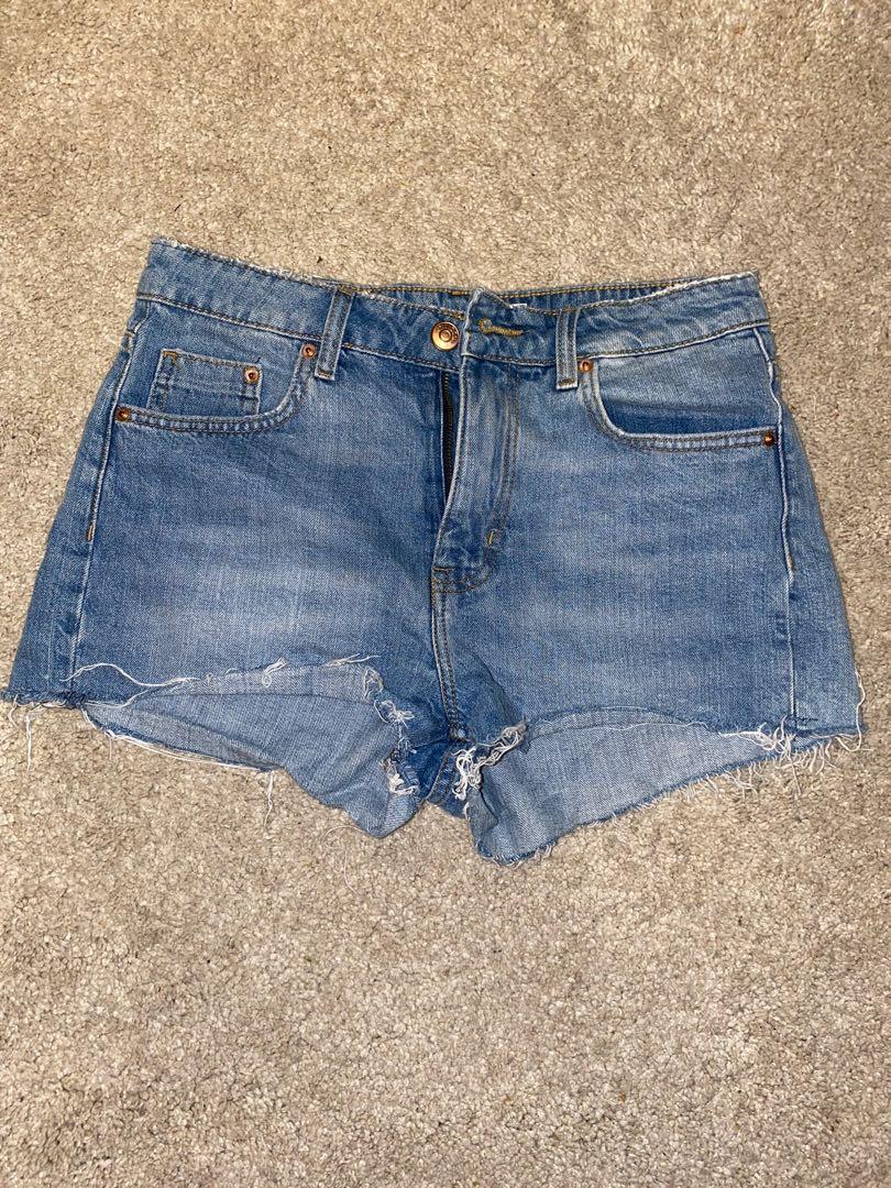 H&M denim shorts S/M
