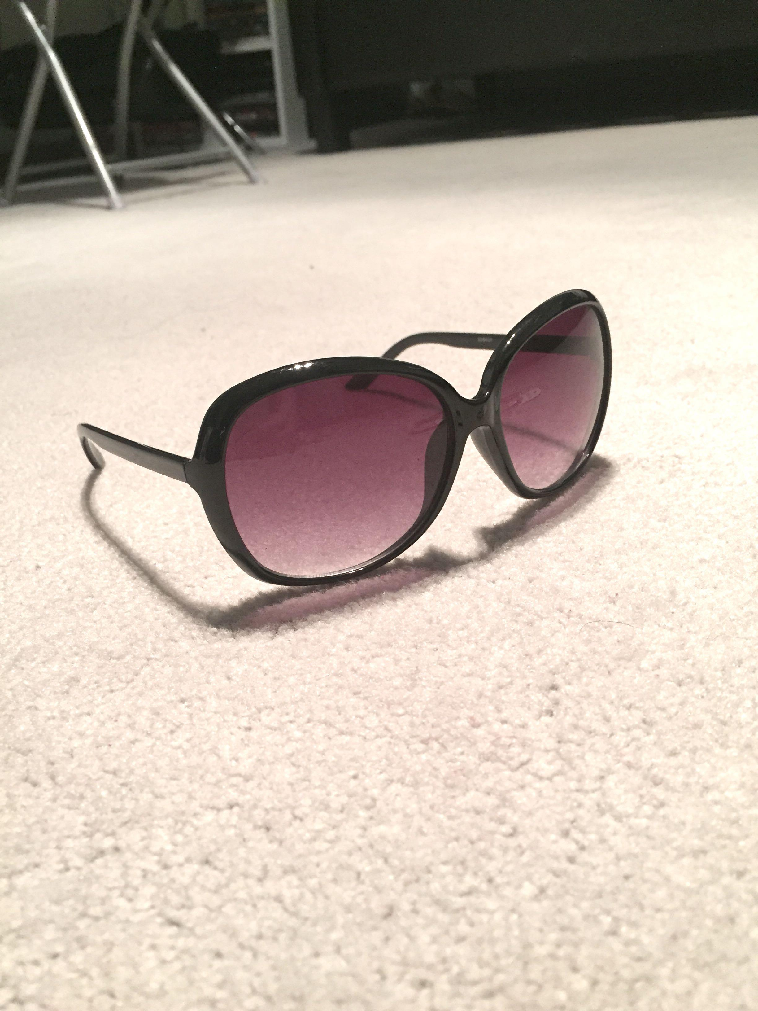 H&M Oversized Sunglasses (Indigo)