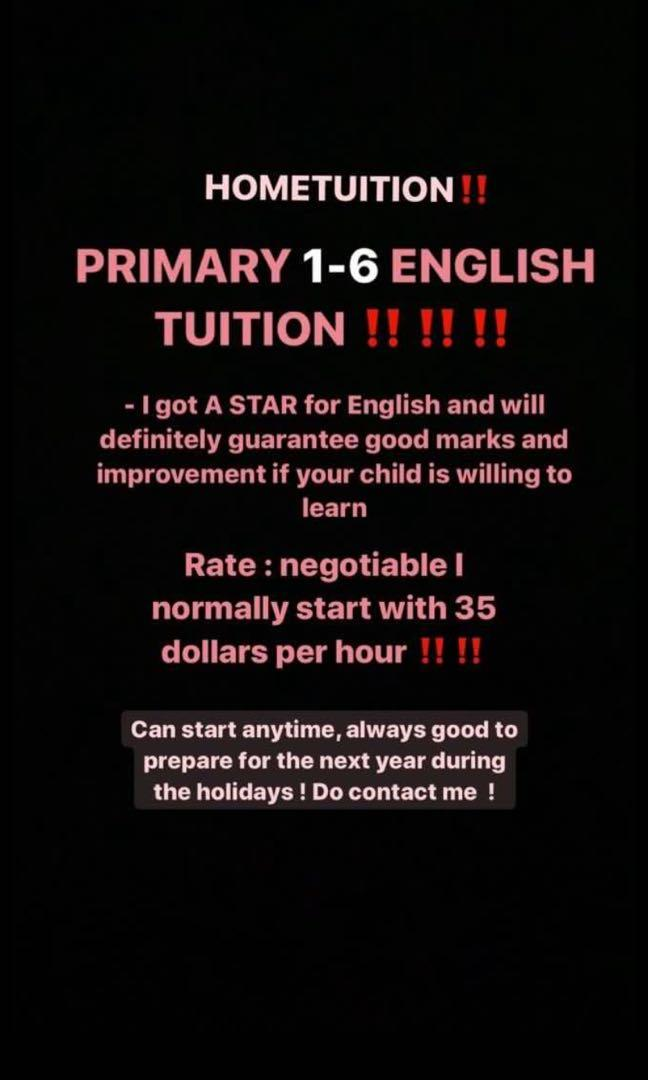 HOME TUITION one on one
