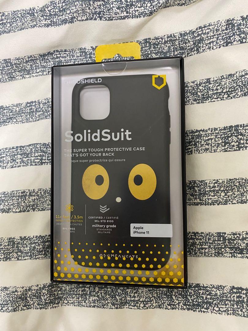 iPhone 11 犀牛盾聯名黃阿瑪soso SolidSuit 手機殼
