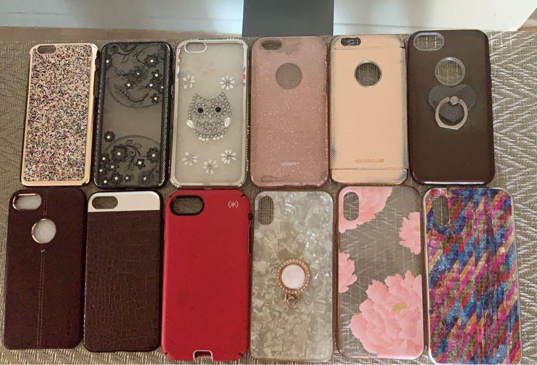 iPhone 6s,7 and XS cases
