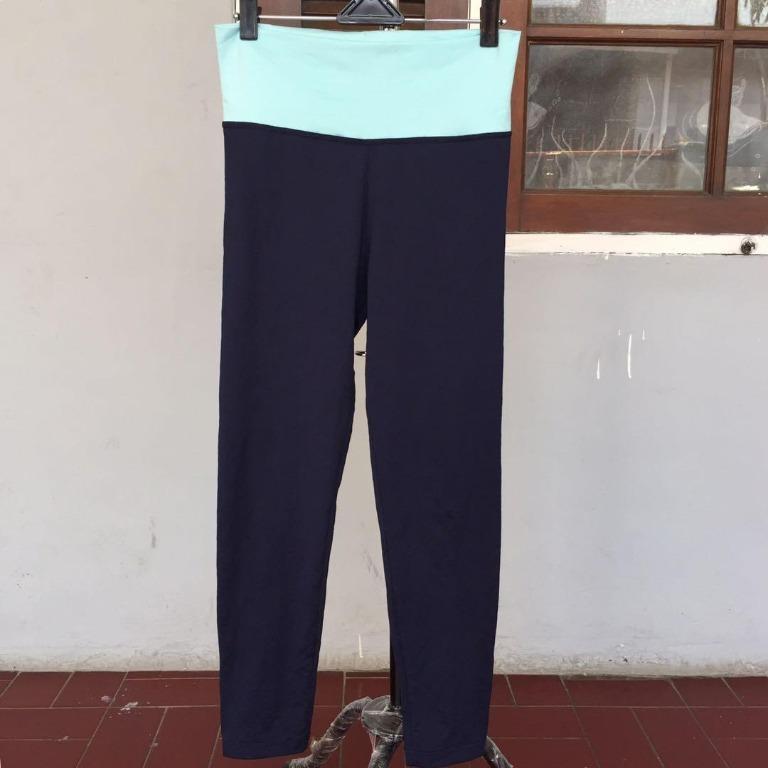 JSSUM Lycra Two Tone Pants Free Size