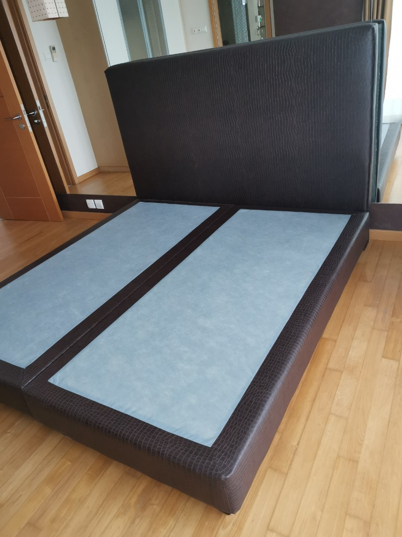 King Size Bed Frame For Sale Furniture Beds Mattresses On Carousell