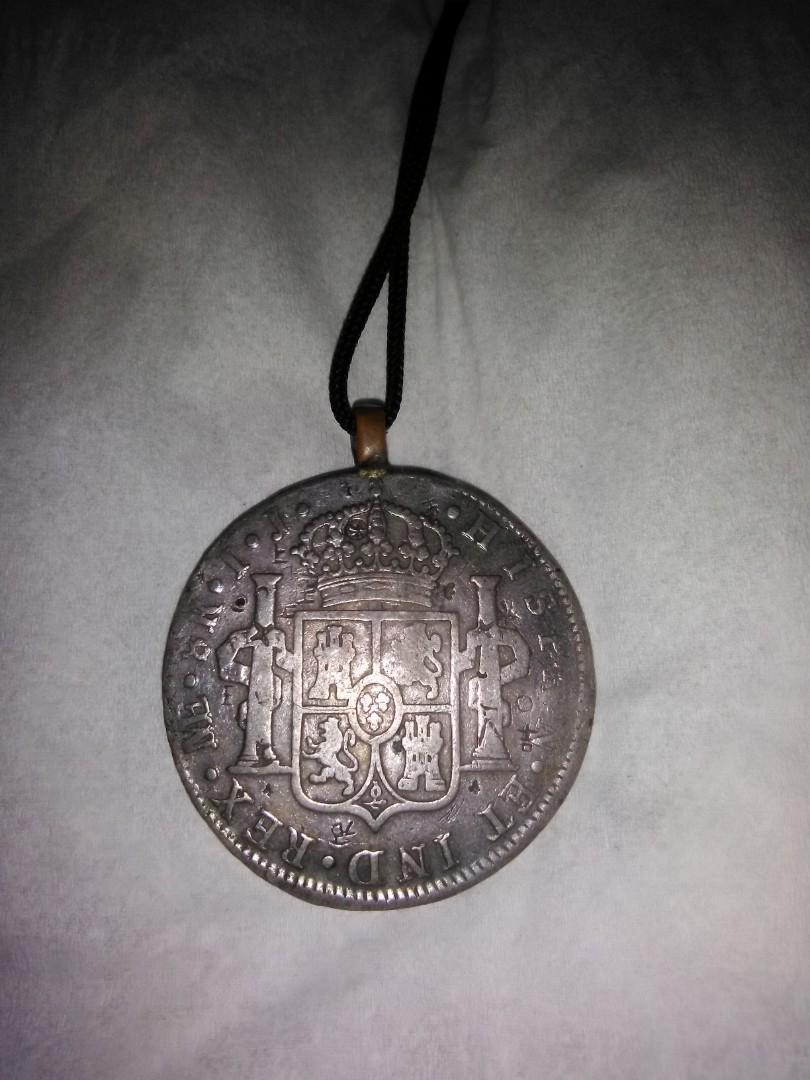 NEGO Koin ANTIK  REAL SPANYOL  CAROLUS IIII  ,, Jadul umur 221 tahun