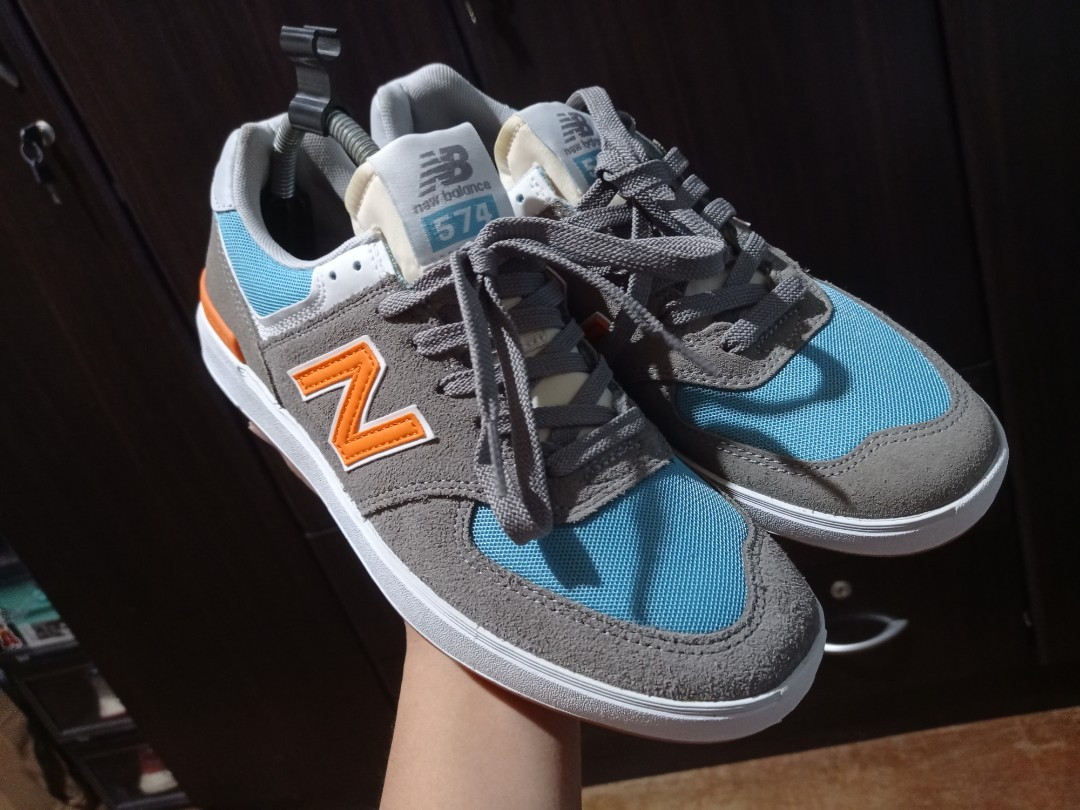 fluido Implementar Autónomo  NEW BALANCE NUMERIC 574, Men's Fashion, Footwear, Sneakers on Carousell