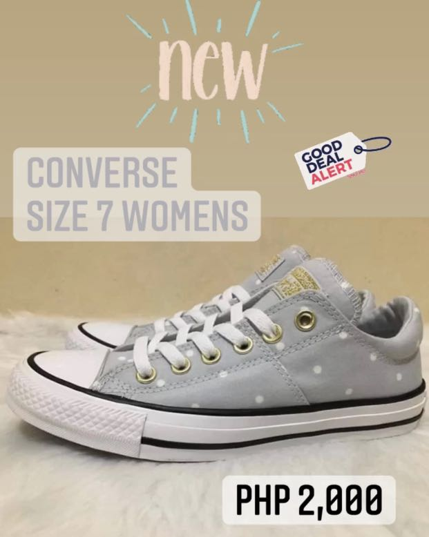New Converse Sneakers Womens Size 7