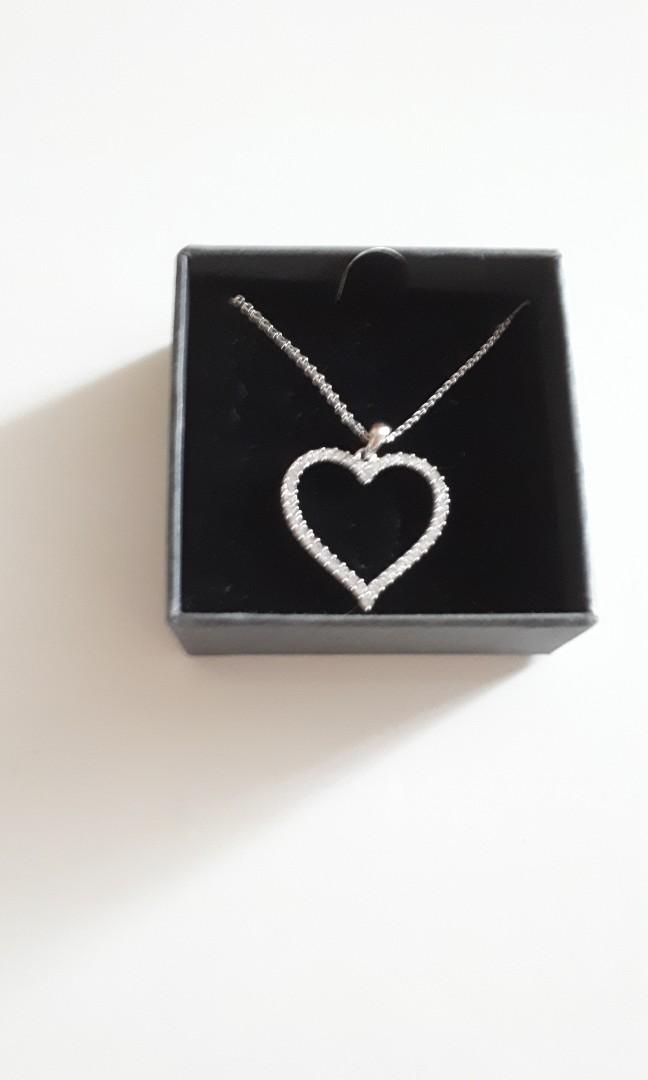 Nic and Syd Heart Necklace