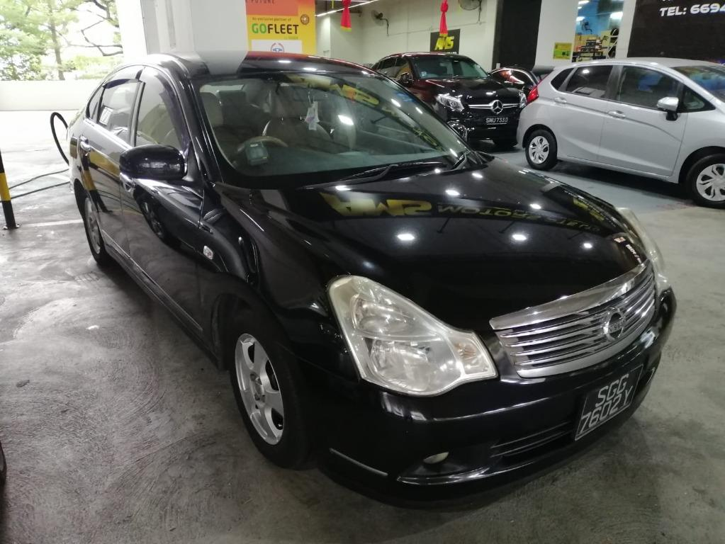 nissan sylphy 1.5 rent !!!!