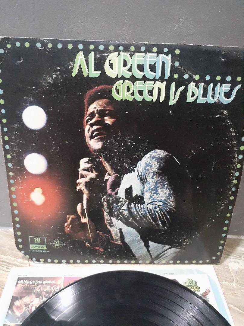 Piringan hitam al green - green is blues