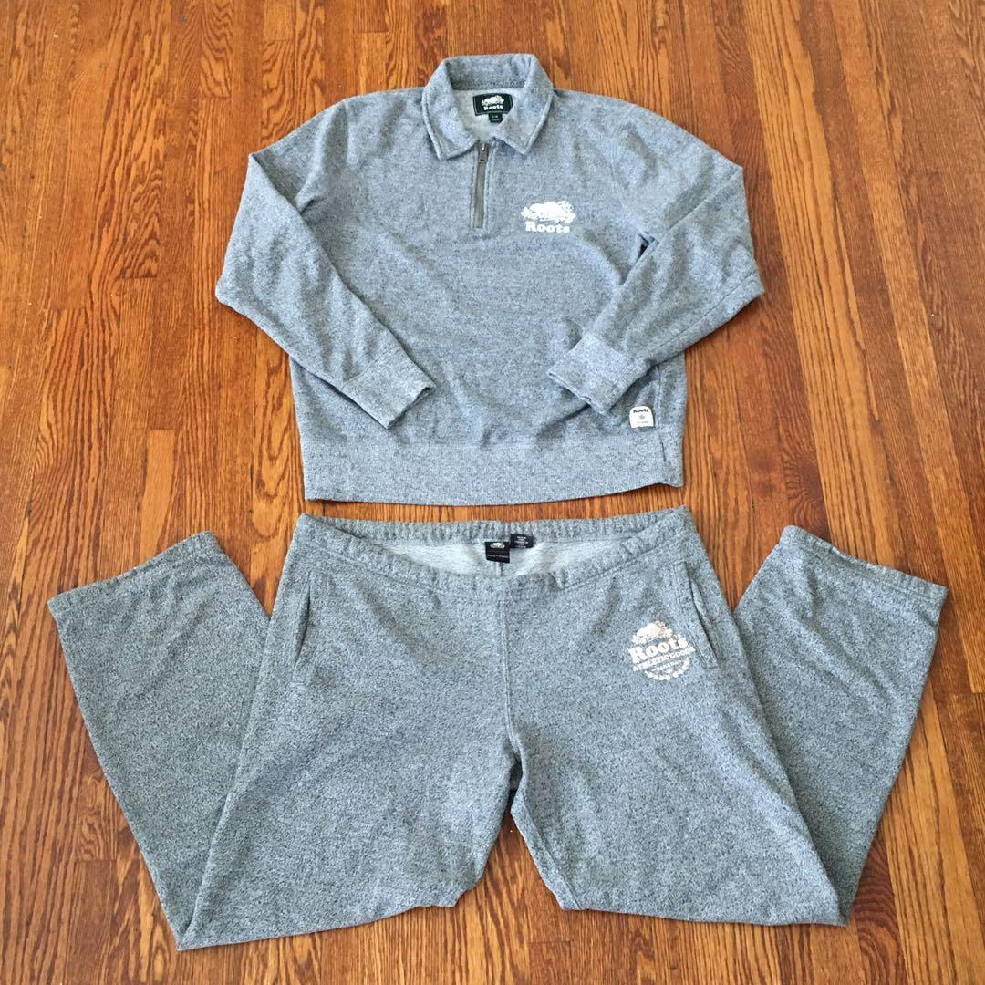 Roots Salt and Pepper Tracksuit