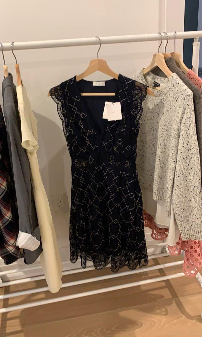 Sandro new dress with tag size s